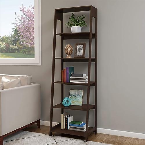 Lavish Home 5 Shelf Ladder Bookshelf