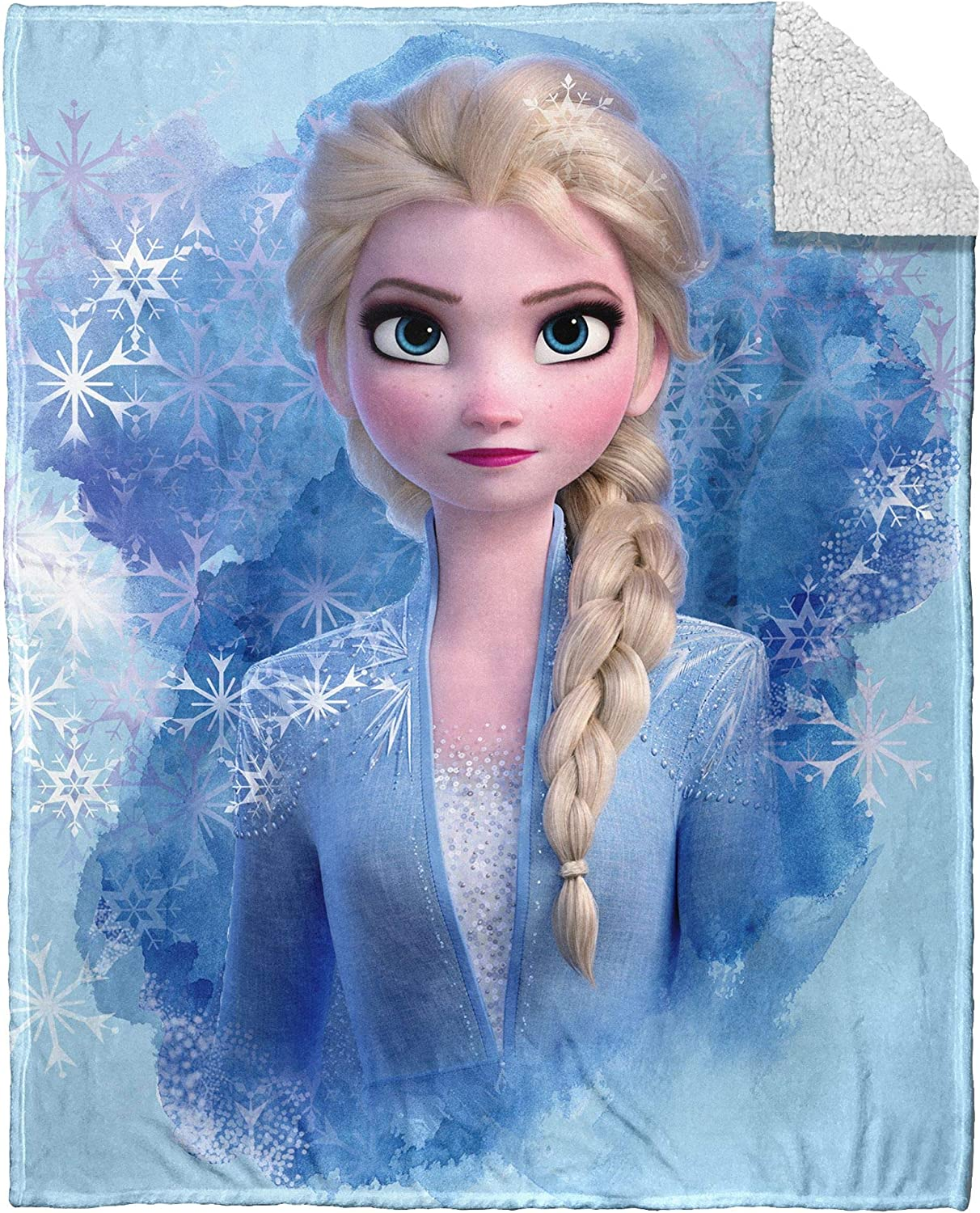 Kids Warehouse Frozen 2 Elsa Silk Touch Throw Blanket