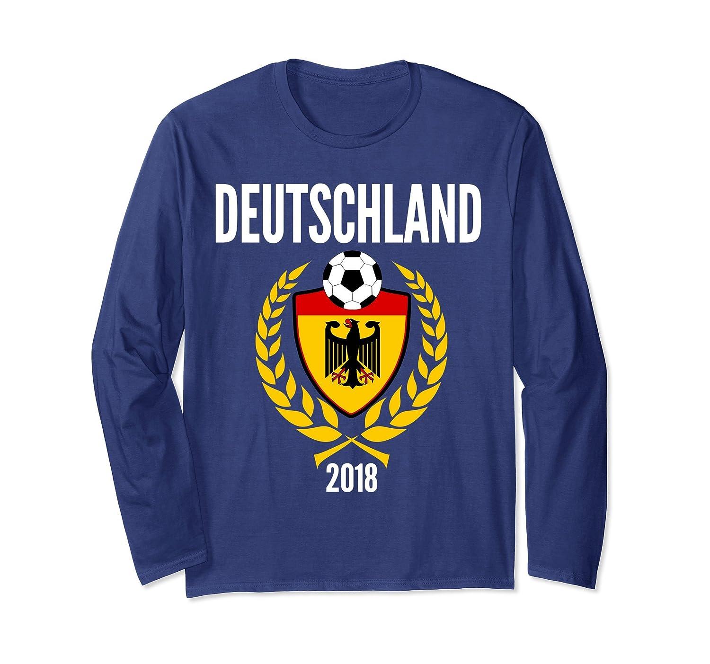 Germany Soccer Jersey Style Deutschland Long Sleeve-Samdetee