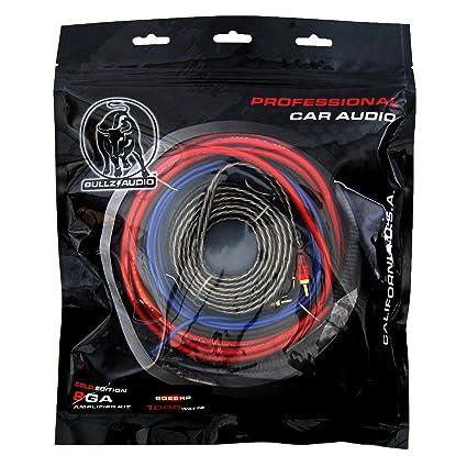 amazon com bullz audio 8 gauge professional wiring kit car rh amazon com
