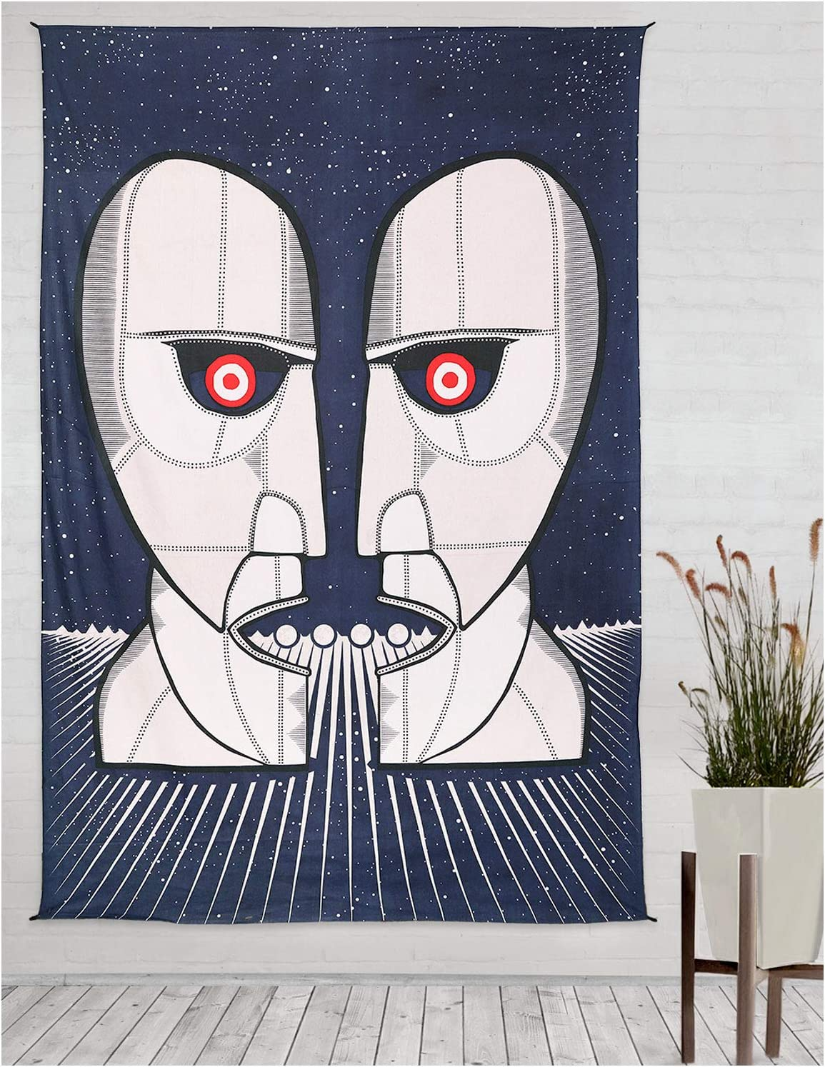 """Pink Floyd Division Bell Tapestry Trippy Wall Art HUGE 60x90/"""" FREE SHIPPING"""
