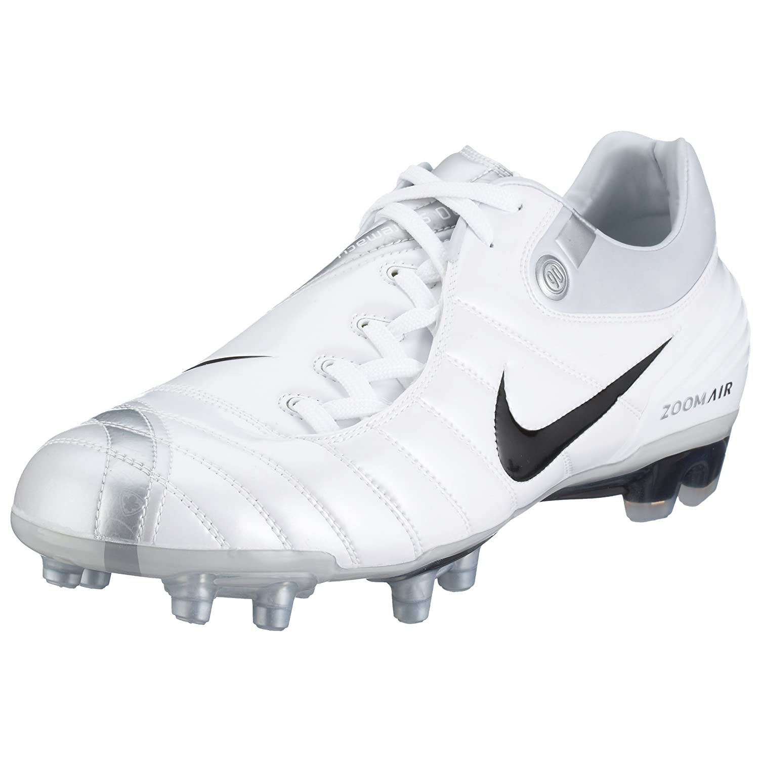 659a833ac31f Nike Men s Air Zoom Total 90 Supremacy FG White 313969-102 9 UK  Amazon.co. uk  Sports   Outdoors