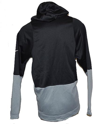 info for 1d646 4be94 Nike Men s Kyrie Irving KI Elite Pullover Dri-Fit Hoodie 2X-Large Black  White  Amazon.co.uk  Sports   Outdoors