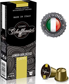 50 Schaffhauser 100% Ultra-Premium Wood Fire Roasted Coffee Pods