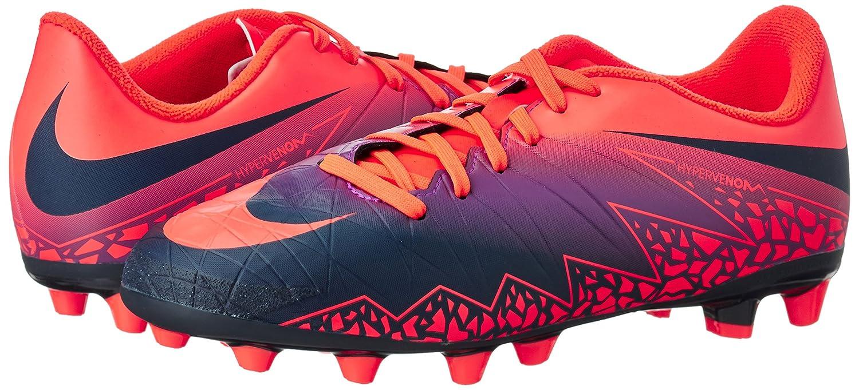 newest 32681 e3680 Nike Hypervenom Phelon 2 Agpro, Scarpe da Calcio Unisex - Bambini,  Multicolore (Total Crimson/Obsidian-Vivid Purple), 38.5 EU: Amazon.it:  Scarpe e borse