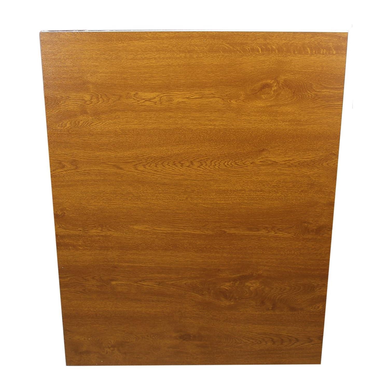 Golden Oak uPVC Flat Door Panel (700mm x 900mm) - Golden Oak/Golden Oak, 28mm Hurst Plastics Limited