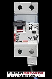 Schneider KQE145C03 45 Amp Type C KQE Single Pole 30mA 10kA 240V RCBO RCD MCB