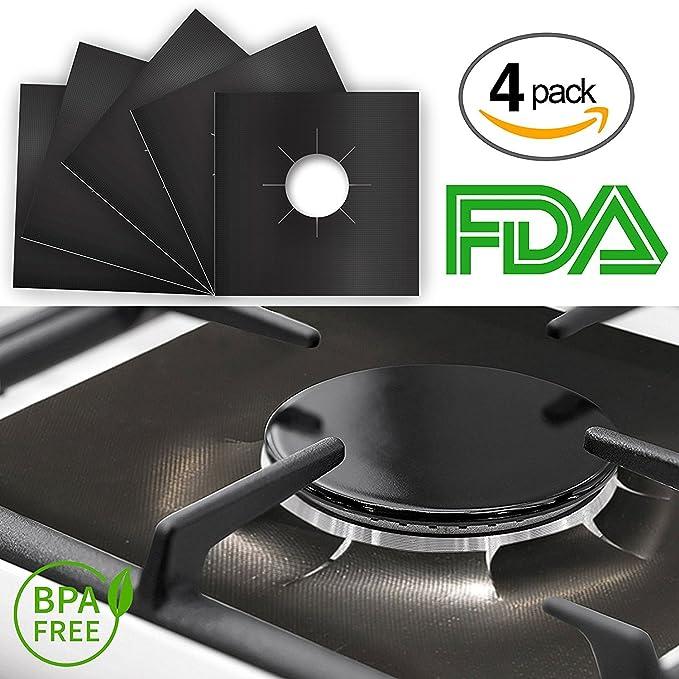Amazon.com: RV gas gama protectores Heavy Duty Negro LP ...
