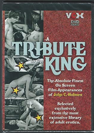 A Tribute To The King John Holmes Dvd