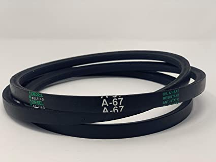 Classic Wrapped V-Belt 1//2in x 17in Outside Circumference 4L170 A15