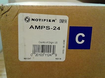 Notifier AMPS-24 - Fuente de alimentación regulable 120VAC