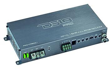 DS18 800 W Amplificador de Clase D Gama Completa Bloque de Audio de Coche