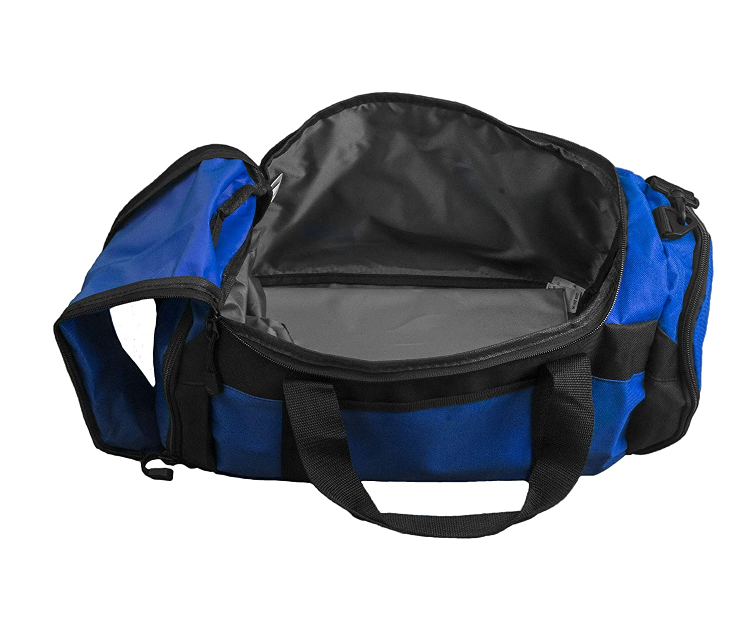aefdd2069f5a all about me company Personalized Soccer Gym Sports Duffel Bag (Black)