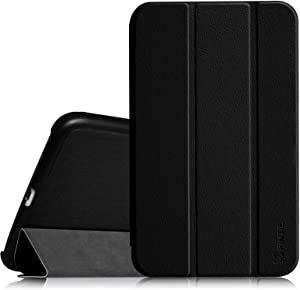 Fintie Slim Shell Case for Samsung Galaxy Tab 4 7.0 - Ultra Lightweight Protective Stand Cover for Samsung Tab 4 7.0(7-Inch) Tablet, Black