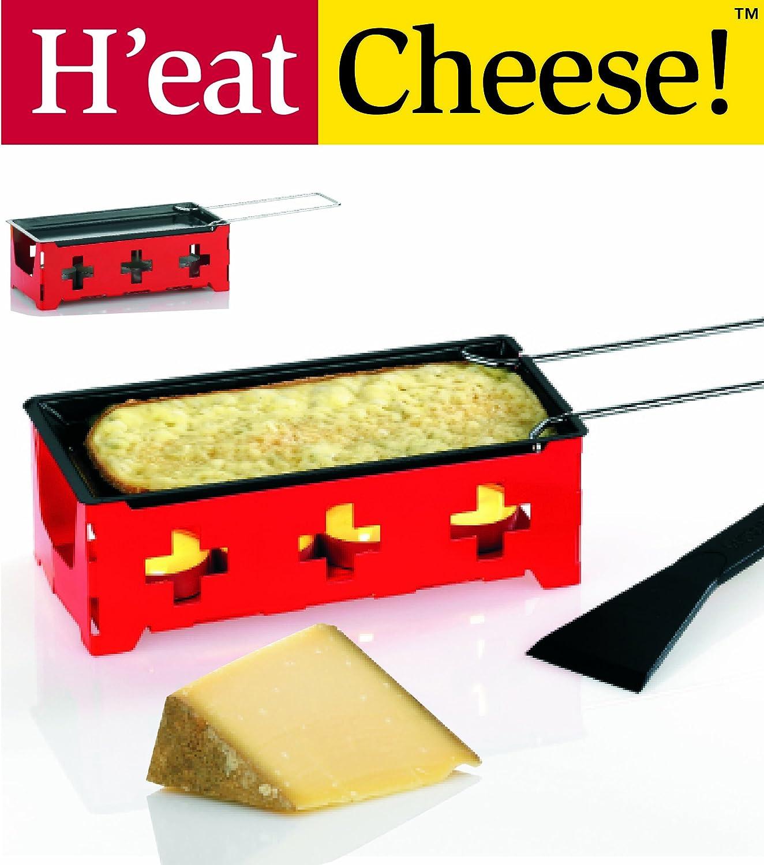 kela 66532 Mini-Raclette Heat Cheese, gelb Weiß