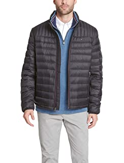 8843854c9 Tommy Hilfiger Men's Packable Down Jacket (Regular and Big & Tall ...