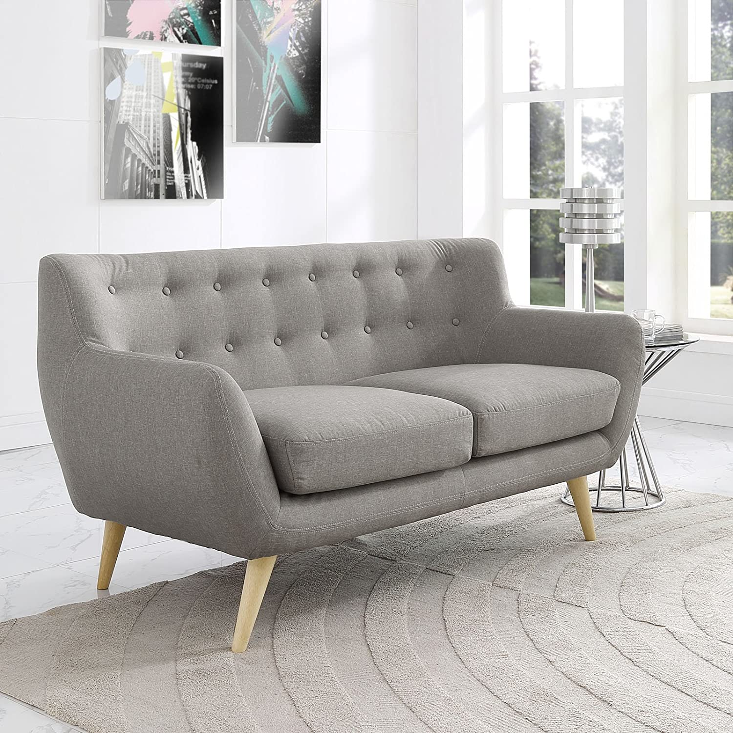 steel sectional framed base decorating sofa ideas cornerstone living scheme on budget grey painting colorful white stainless striped wall over loveseat room color walls a square leather