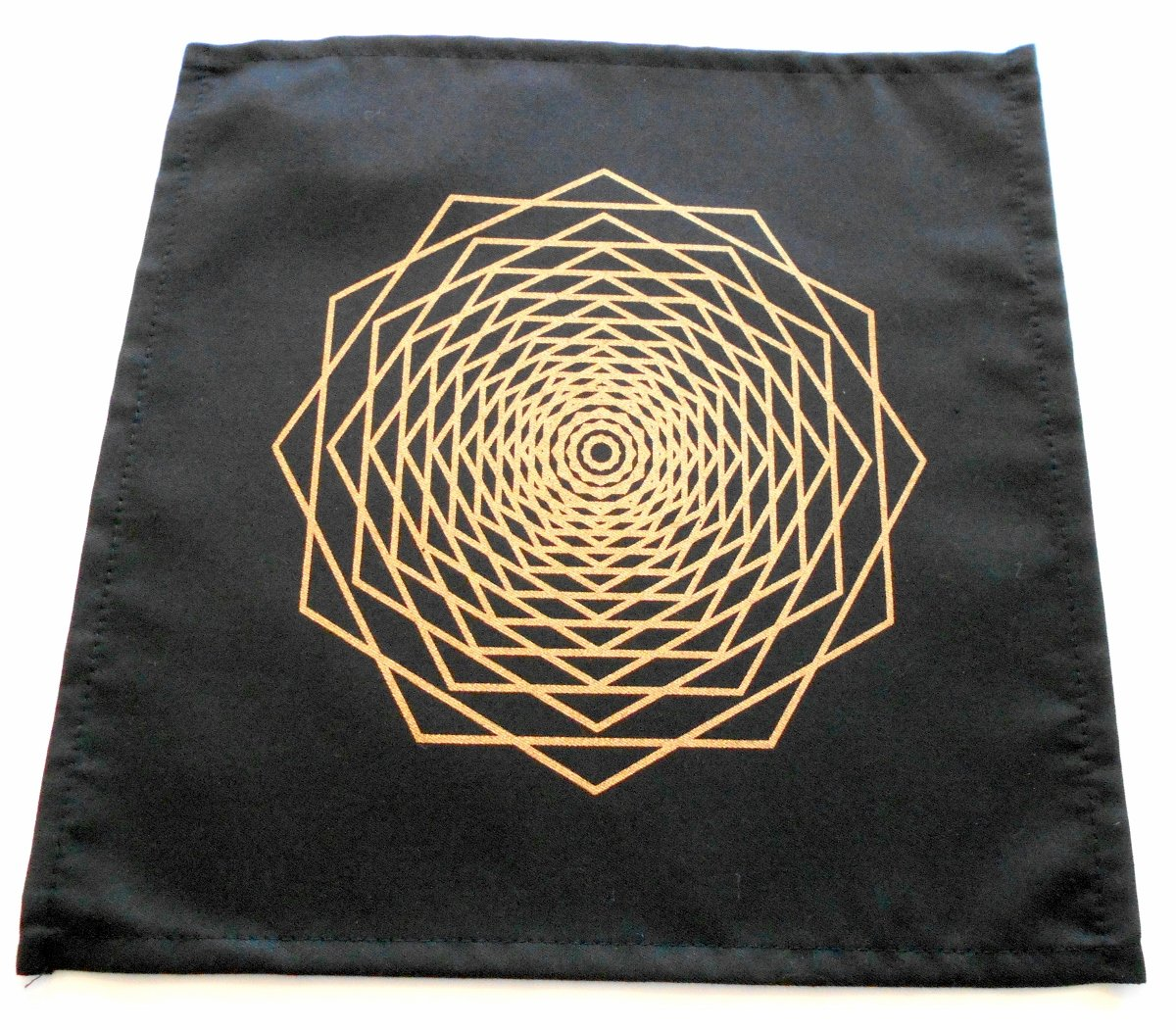 earthegy Crystal Grid Cloth Sacred Geometry Dodeca Fractal Design Kheops International