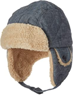 bd72383e43c3f Amazon.com  Moon Kitty Little Boys Winter Hat with Large Flaps Kids ...