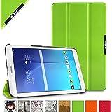 BeePole Custodia Protettiva Tri-Folder per Samsung Galaxy Tab E 9.6 (SM-T560/T561/T565/T567V), con Supporto, Verde