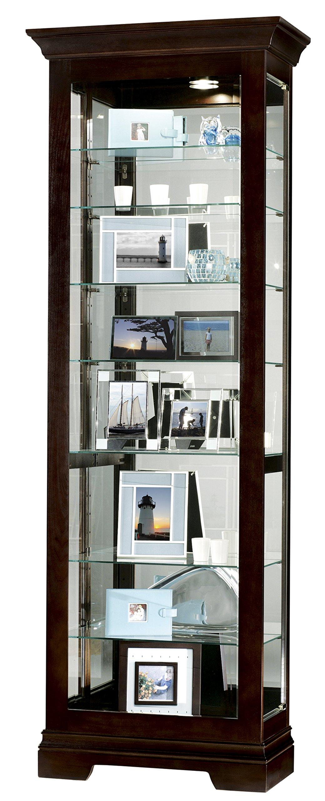 Howard Miller 680-412 Saloman Curio Cabinet by Howard Miller