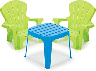 product image for Little Tikes Garden Table and Chairs Set, Blue/Green