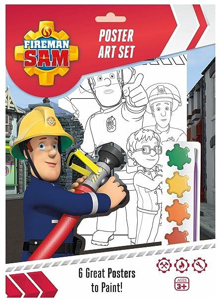 Amazon.com: Sam El Bombero Póster Set: Toys & Games