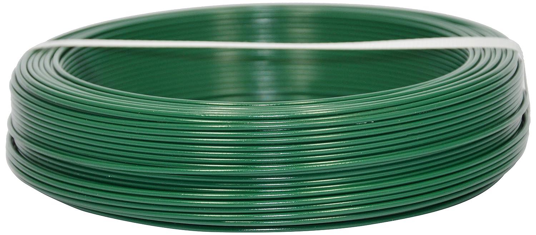 Corderie Italiane 002014072 Filo Ferro Plastica, Verde, 1.8 mm, 100 m Filtrex srl