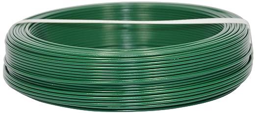 3 opinioni per Corderie Italiane 002014072 Filo Ferro Plastica, Verde, 1.8 mm, 100 m