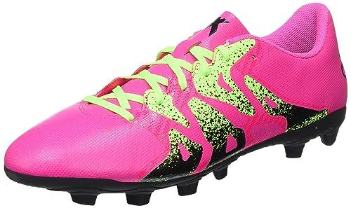 best service 62291 06d18 adidas X 15.4 FxG, Chaussures de Football Homme, Rose (Shock Pink Solar