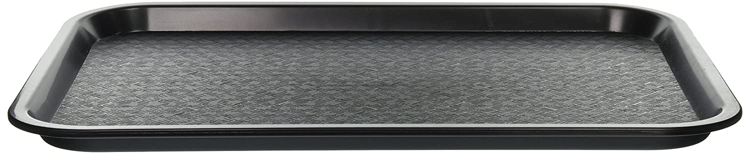 Winco Fast Food Tray, 12 by 16-Inch, Black
