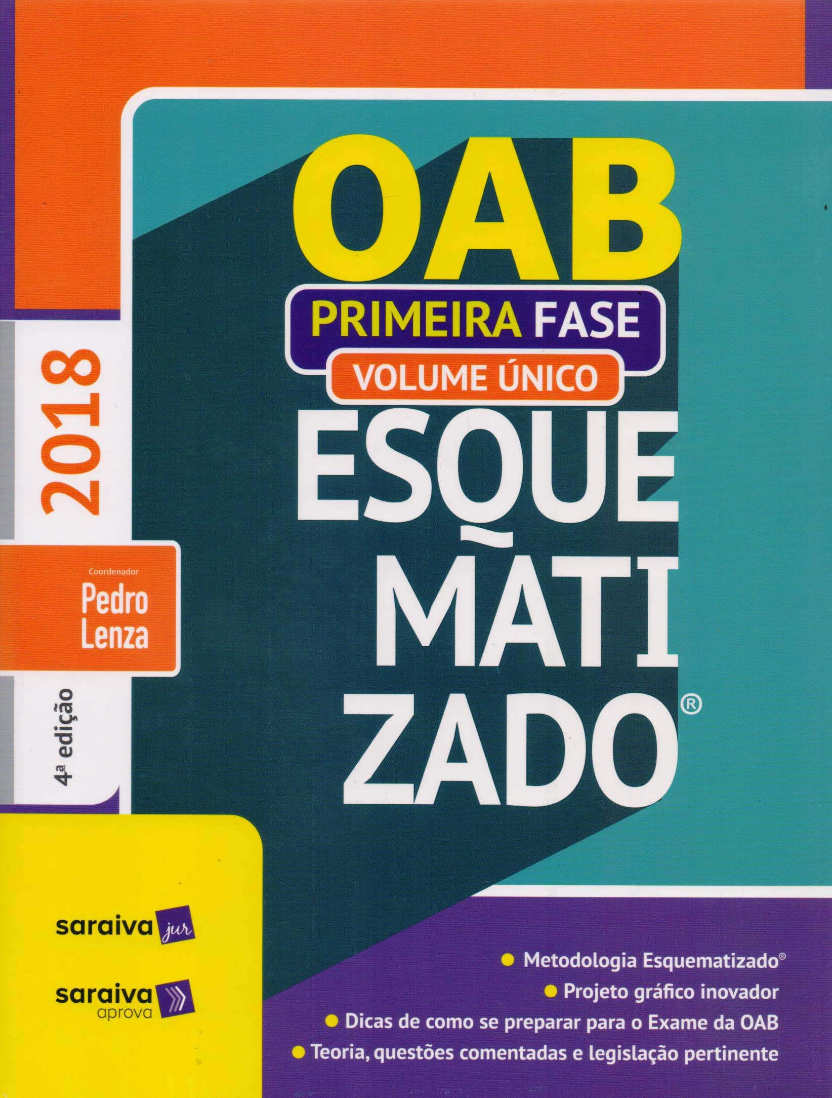 Oab Esquematizado. 1ª Fase - Volume Único - 9788553601776 - Livros na  Amazon Brasil b04715e0b0