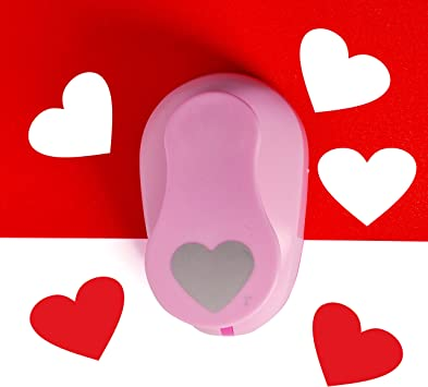 Heart Punch 2 inch Craft Lever Punch Handmade Paper Punch 2inch Heart