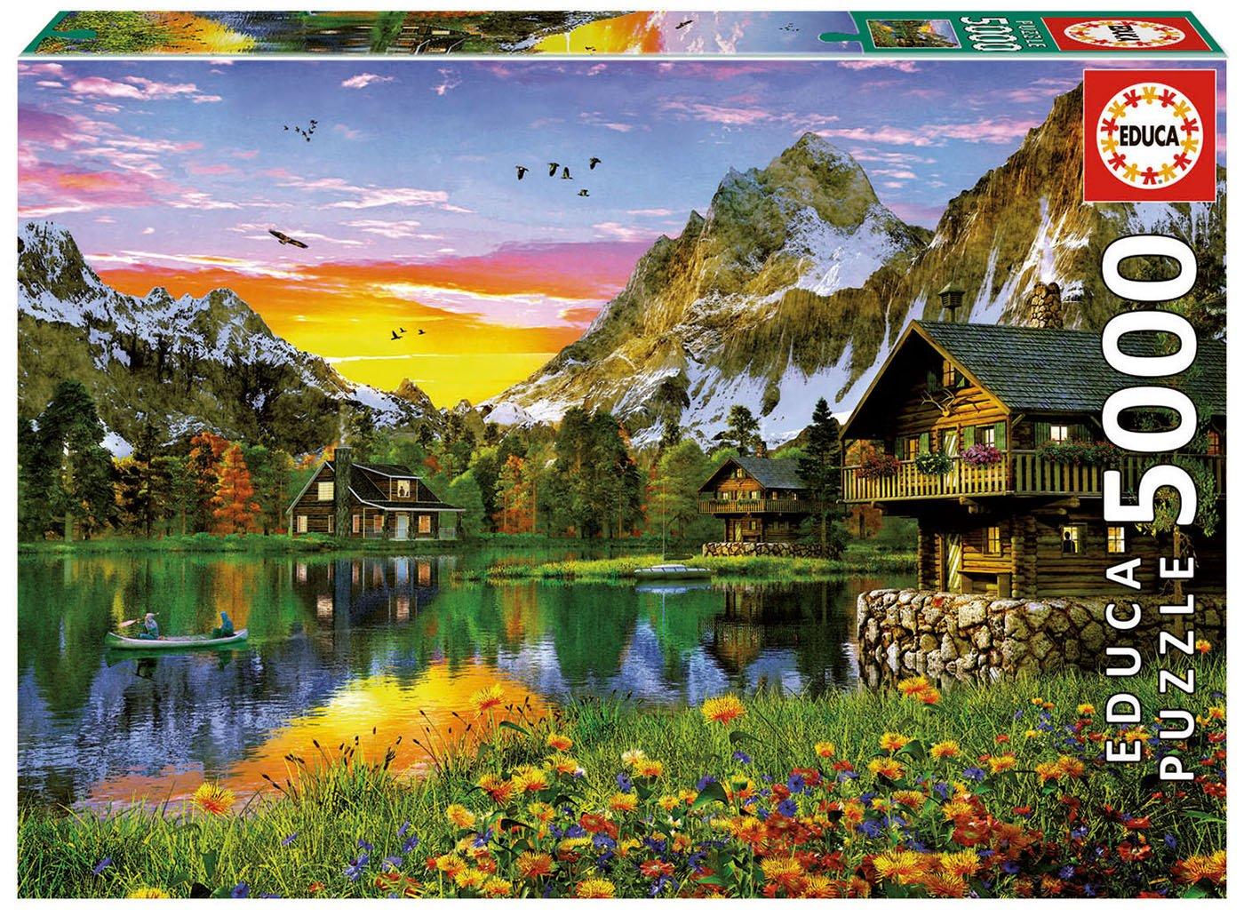 Educa Alpine Lake Lake B07935J4NK Alpine B07935J4NK, サプライズ激熱店:62820e38 --- ero-shop-kupidon.ru