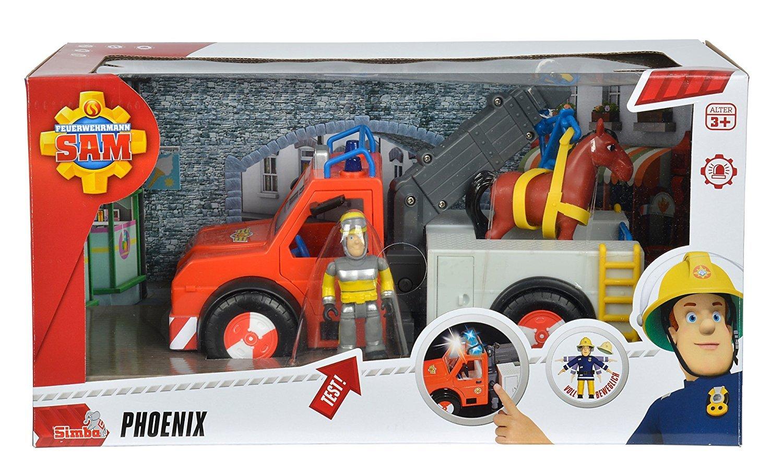 Fireman Sam Sams Deluxe Phoenix Rescue Vehicle Playset by Fireman Sam