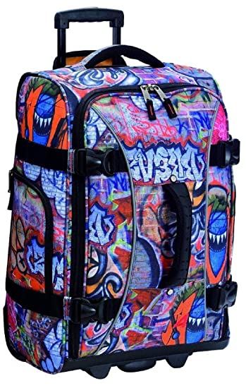 3bee23c65d3e Athalon Luggage 21 Inch Hybrid Travelers Bag, Graffiti, One Size