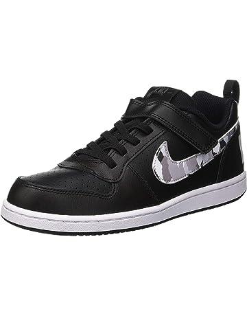 158197301c40 Nike Court Borough Low (PSV), Chaussures de Basketball garçon. #1
