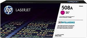 HP 508A CF363A, Magenta, Cartucho Tóner Original, de 5.000 páginas, para impresoras HP Color LaserJet Enterprise serie 552, 553; LaserJet Enterprise serie 577