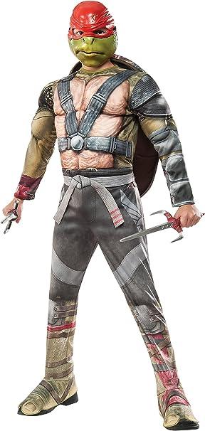Amazon.com: Disfraz de lujo de Teenage Mutant Ninja Turtles ...