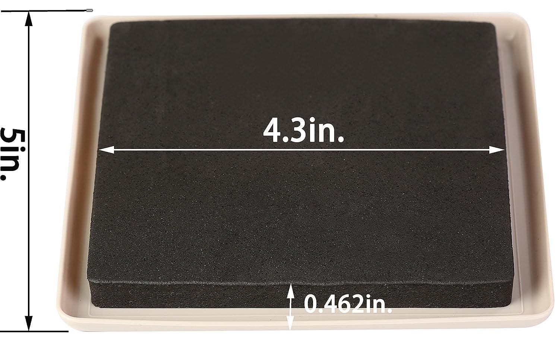 Feltrini liyic riutilizzabili da cm per tappeti e mobili