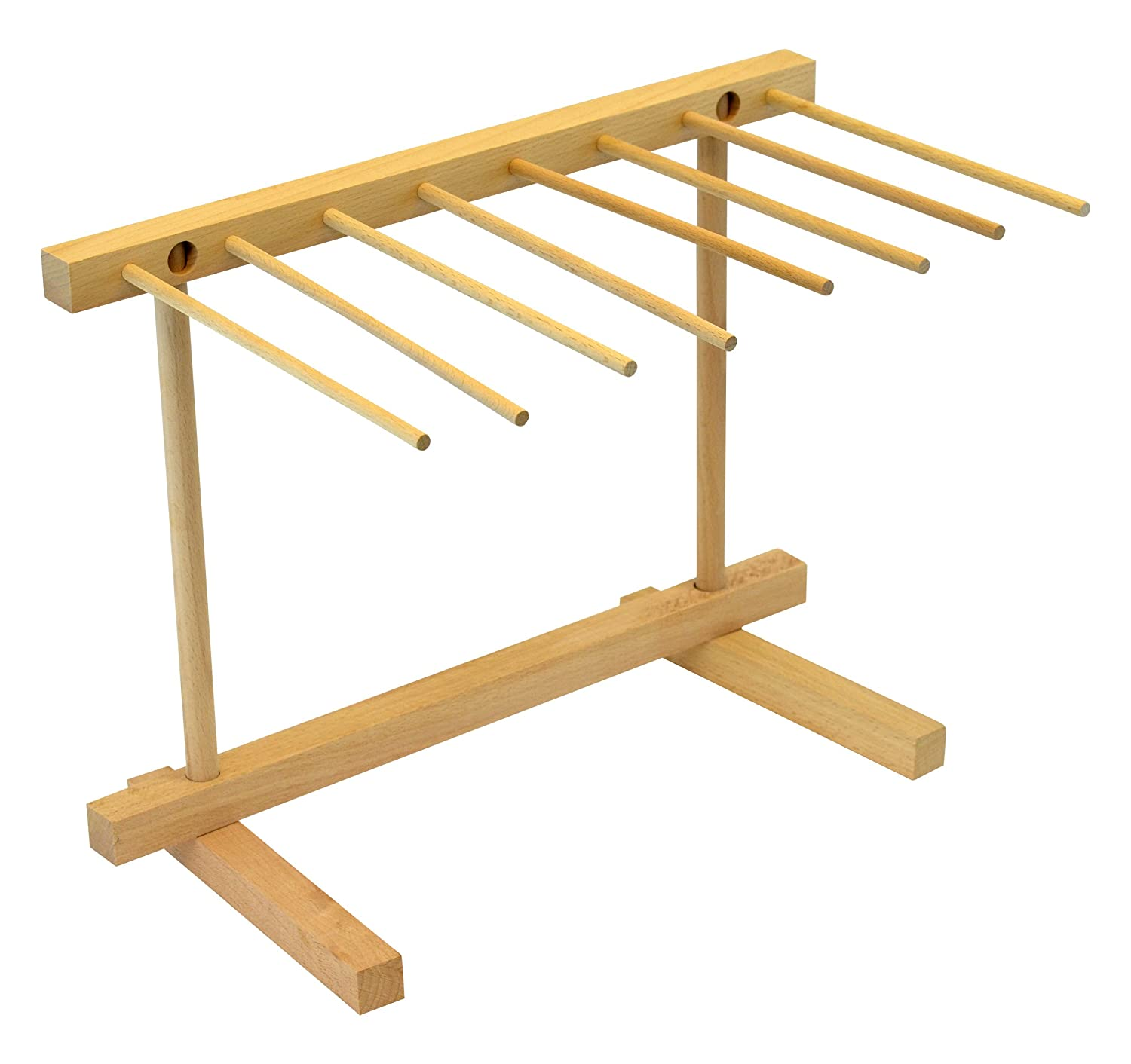 Southern Homewares Southern Homewares Collapsible Wooden Pasta Drying Rack, Natural Beechwood