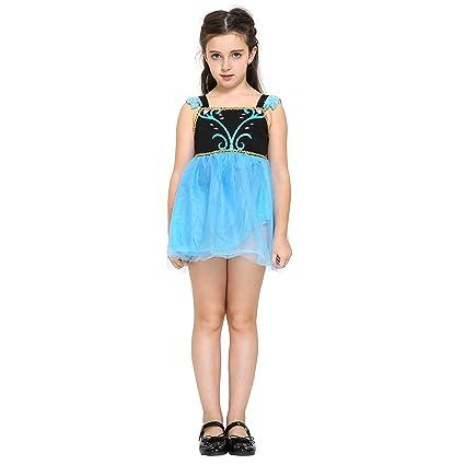 Katara - Disfraz de princesa Anna de Frozen Fever vestido ...