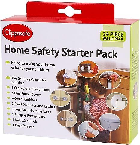 pack of 3 Cippasafe Cupboard Locks Child Safety