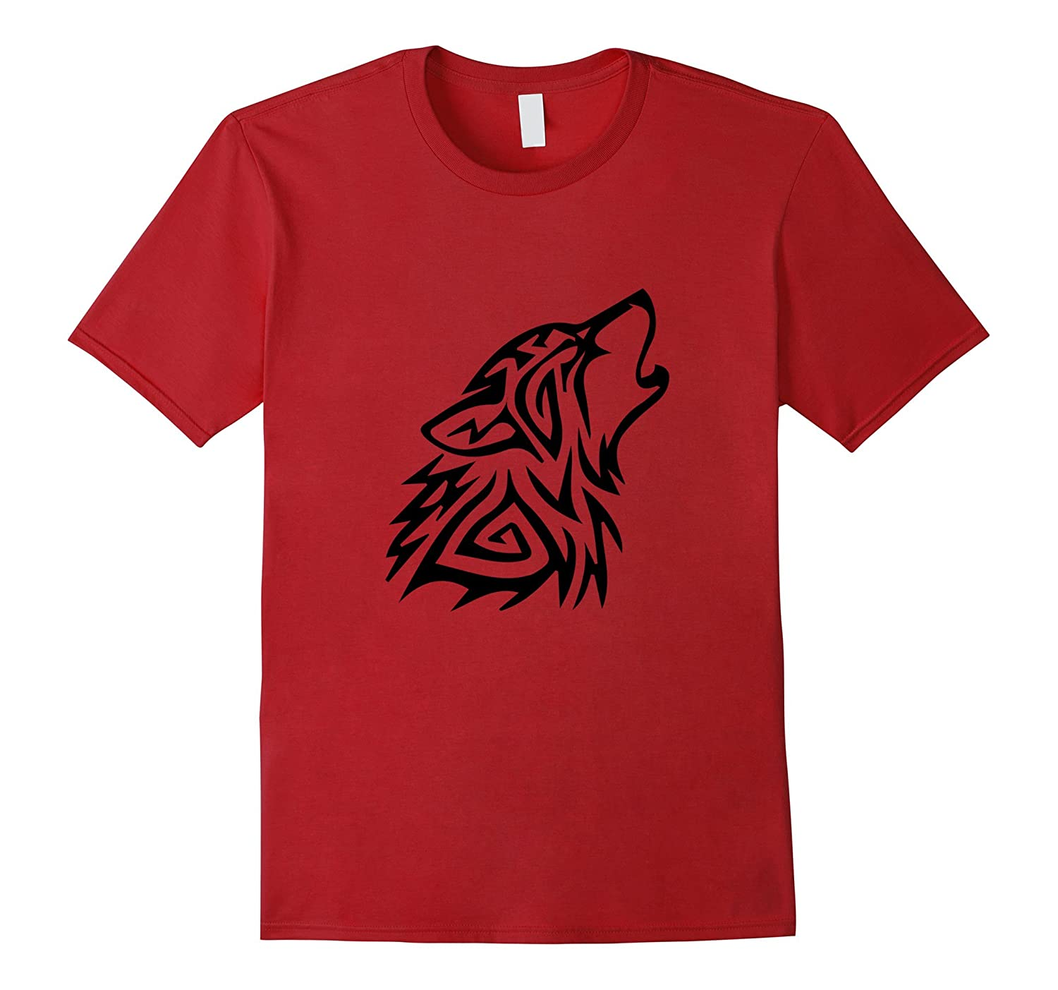 Wolf pack tribal scout wolf t shirt goatstee for Amazon review wolf shirt