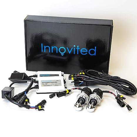 innovited ac 55w bi xenon hi low dual beam hid kit h4 9003 6000k 2 year warranty H4 Bulb Schematic