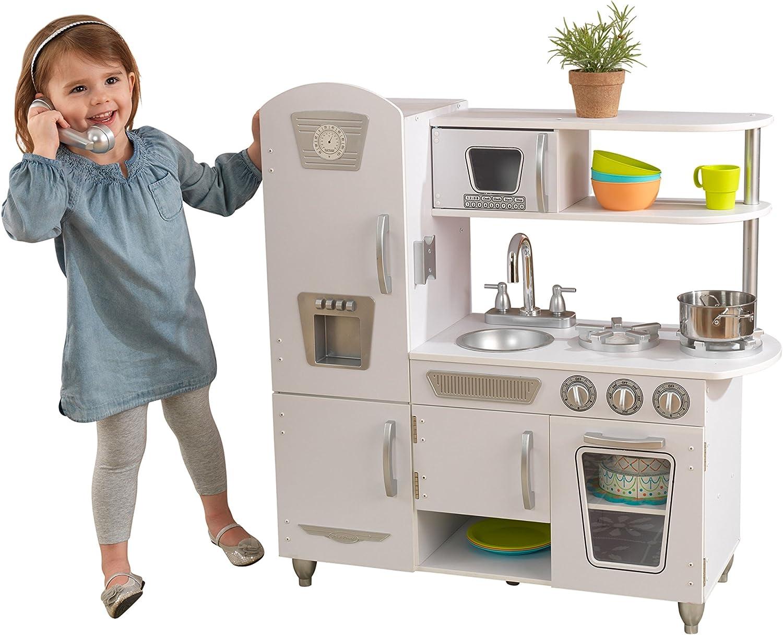 Kidkraft - 53179 - Jeu D'Imitation - Cuisine Vintage, Rose Gris