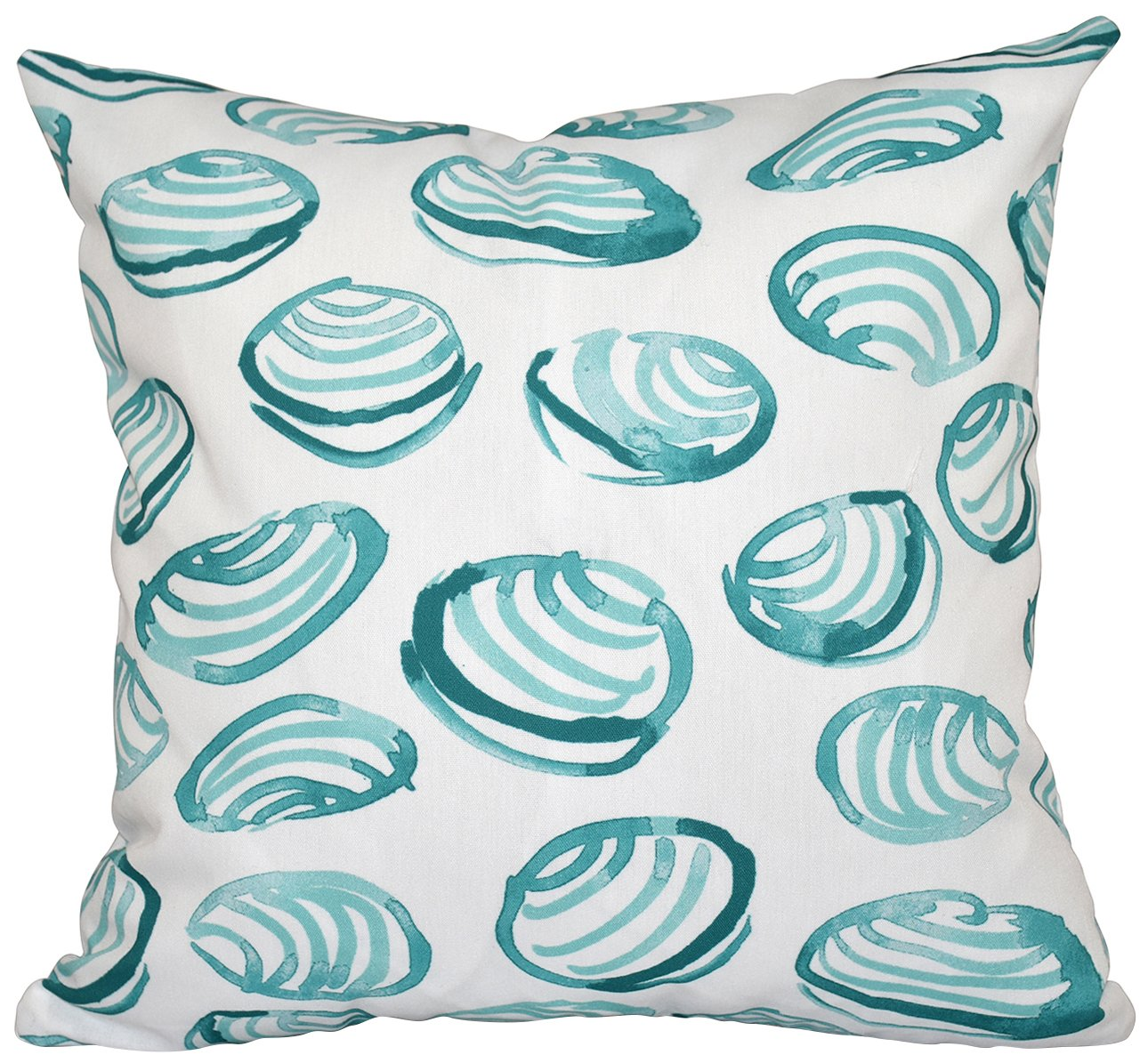E by design O5PGN472BL3-20 Printed Outdoor Pillow