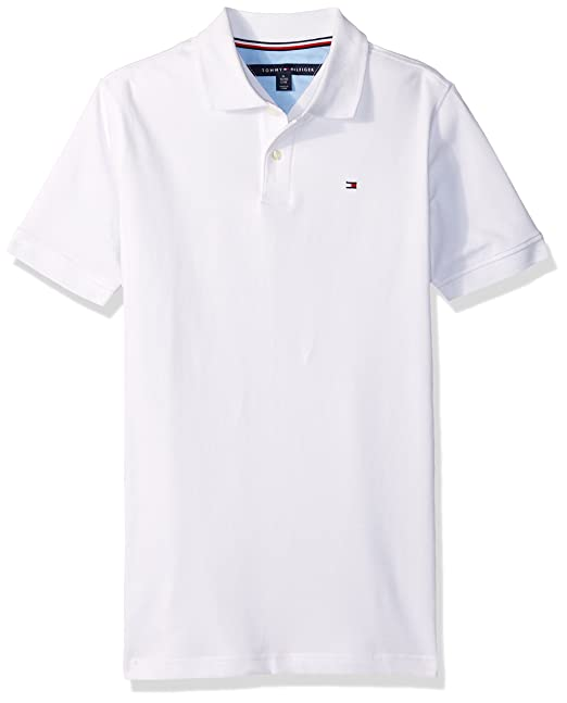 87f74de7 Tommy Hilfiger Boys Stretch Ivy Polo Polo Shirt: Amazon.ca: Clothing &  Accessories