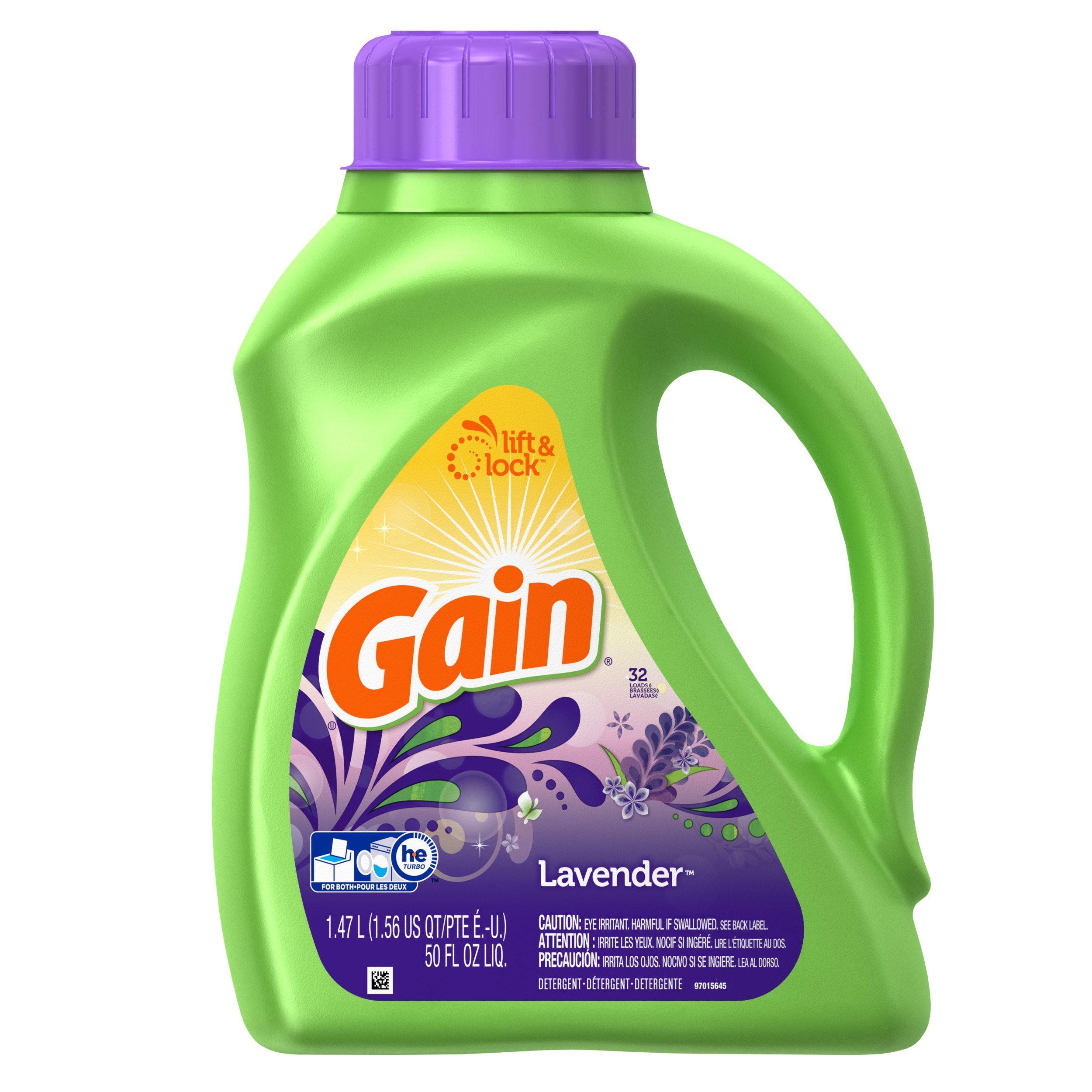 Amazon Com Gain Dryer Sheets Spring Lavender 120 Ct