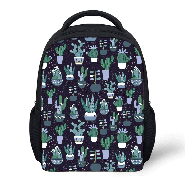 e7170c8e02 Channel Five Cactus Plant Kids Toddler Mini Backpack School Bookbag For  Preschool Bags